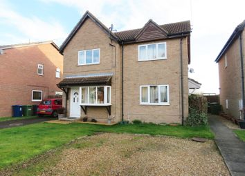 Thumbnail 2 bedroom semi-detached house for sale in Stanch Hill Road, Sawtry, Huntingdon