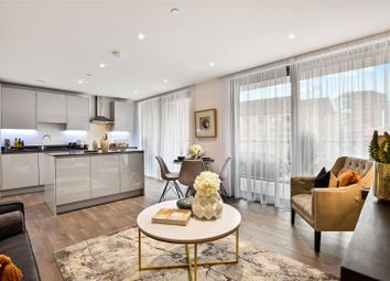 Thumbnail 2 bed flat for sale in Heritage Tower, 118 East Ferry Road, London