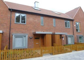 Thumbnail 3 bedroom terraced house to rent in Spring Drive, Trumpington Meadows, Cambridge