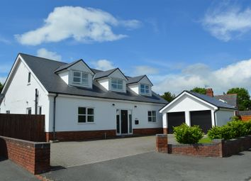 Thumbnail 5 bed detached house for sale in Offa House Estate, Treflach, Oswestry