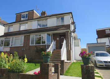Thumbnail 3 bed semi-detached house for sale in Northease Drive, Hove