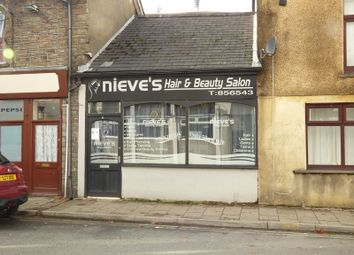 Thumbnail Retail premises for sale in Oxford Street, Pontycymer, Bridgend.