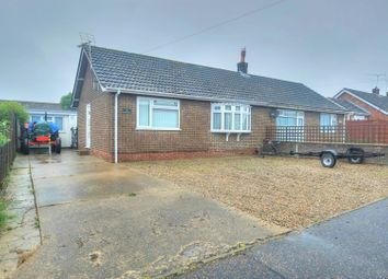 Thumbnail 2 bed semi-detached bungalow for sale in St. Nicholas Way, Great Yarmouth