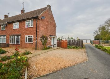 Thumbnail 3 bed semi-detached house for sale in Farrow Road, Whaplode Drove, Spalding