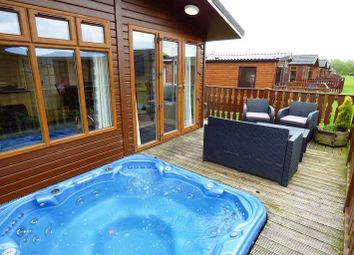 Thumbnail 2 bed lodge for sale in 46 Gressingham, South Lakeland Leisure Village, Dock Acres, Borwick