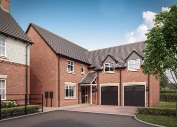 Thumbnail 5 bed detached house for sale in Heather Lane, Ravenstone, Coalville