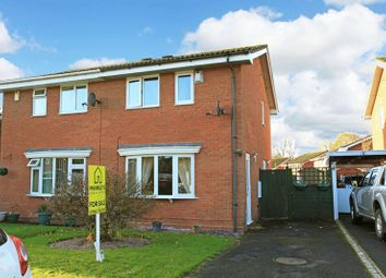 Thumbnail 2 bed semi-detached house for sale in 35 Grovefields Leegomery, Telford