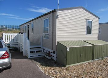 Thumbnail 2 bedroom mobile/park home for sale in Pebble Beach, Martello Beach Park (Ref 5663), Pevensey Bay, Eastbourne, East Sussex