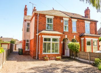 Thumbnail 4 bed semi-detached house for sale in Newark Road, Lincoln