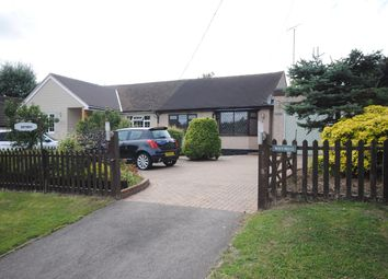 Thumbnail 2 bed semi-detached bungalow for sale in Southend Road, Howe Green, Chelmsford