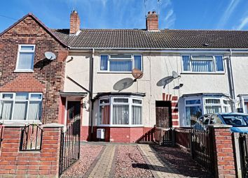 Thumbnail 2 bed terraced house for sale in Arram Grove, Hull