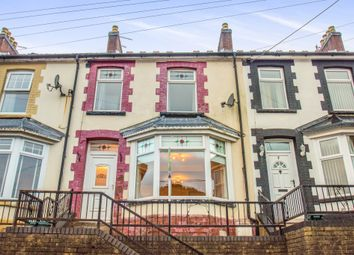 Thumbnail 3 bed terraced house for sale in Harcourt Terrace, Brithdir, New Tredegar