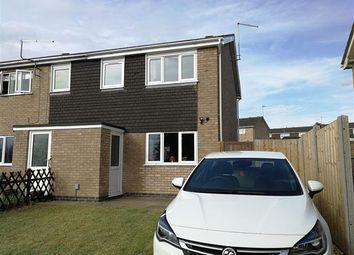 Thumbnail 3 bed semi-detached house to rent in Gleneagles Close, Kettering