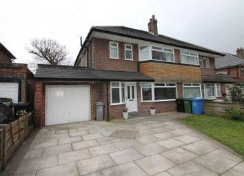 Thumbnail 3 bed semi-detached house for sale in Church Road, Urmston, Manchester
