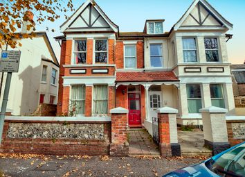 Thumbnail 3 bed flat for sale in Wyke Avenue, Worthing