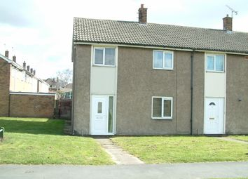 Thumbnail 1 bed end terrace house to rent in Barham Grove, Rossington