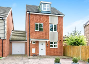 Thumbnail 4 bed link-detached house for sale in Mill Road, Basingstoke