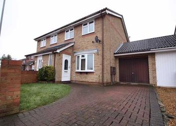 Thumbnail 3 bedroom semi-detached house for sale in Sprites Lane, Sproughton, Ipswich