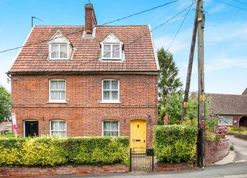 Thumbnail 3 bed semi-detached house for sale in Tye Green, Glemsford, Sudbury