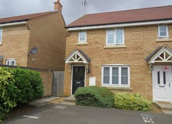Thumbnail 3 bed end terrace house for sale in Bluebell Close, Wellingborough