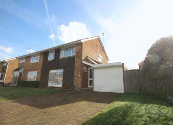 Thumbnail 4 bed semi-detached house for sale in Leconfield Close, Tonbridge
