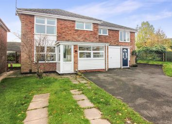 Thumbnail 4 bed semi-detached house for sale in Millfield Close, Ashby-De-La-Zouch