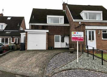 Thumbnail 3 bed detached house to rent in The Glebe, Belbroughton, Stourbridge