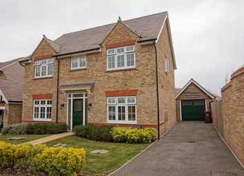 Thumbnail 4 bed detached house for sale in Anderson Close, Halling, Rochester