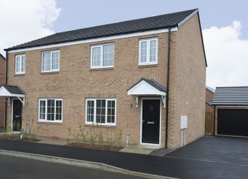 Thumbnail 3 bed semi-detached house for sale in Stannington Park, Off Green Lane, Stannington