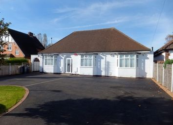Thumbnail 4 bed detached bungalow to rent in Weeford Road, Four Oaks, Sutton Coldfield