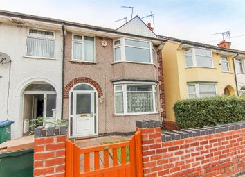 Thumbnail 3 bed end terrace house for sale in Glencoe Road, Coventry