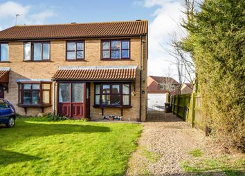 Thumbnail 3 bed semi-detached house for sale in Thurlow Court, Lincoln