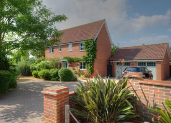 Thumbnail 4 bed detached house for sale in Jermyn Way, Tharston