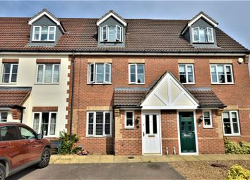 Thumbnail 3 bedroom town house for sale in Elgar Way, Stamford