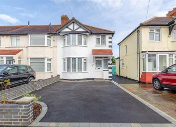 Thumbnail End terrace house for sale in Marlow Drive, Cheam, Surrey