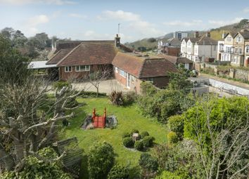 Thumbnail 4 bed detached bungalow for sale in Radnor Cliff Crescent, Sandgate, Folkestone