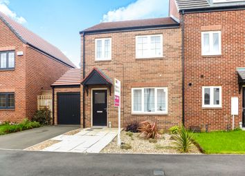Thumbnail 3 bedroom end terrace house for sale in Jasmine Close, Hartlepool