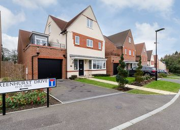 Thumbnail 4 bed detached house for sale in Greenhurst Drive, East Grinstead