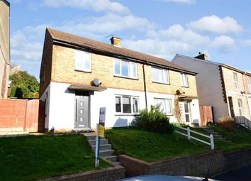 Thumbnail 3 bedroom semi-detached house for sale in Odo Road, Dover, Kent