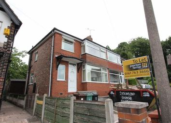 Thumbnail 3 bed semi-detached house to rent in Newlands Drive, Manchester