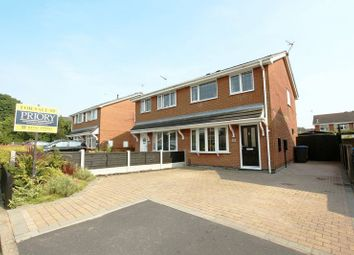 Thumbnail 3 bed semi-detached house for sale in Bellringer Close, Biddulph, Stoke-On-Trent