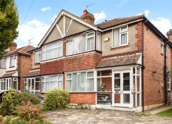 Thumbnail 3 bed semi-detached house for sale in Morley Crescent East, Stanmore, Middlesex