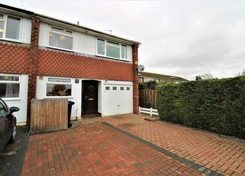 Thumbnail 3 bed end terrace house for sale in Cliveden Close, Cambridge