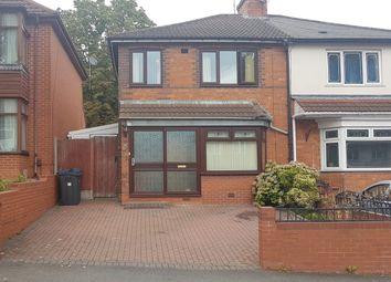 Thumbnail 3 bed semi-detached house for sale in Erdington Hall Road, Erdington, Birmingham