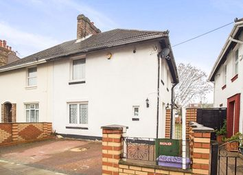 Thumbnail 4 bed semi-detached house for sale in Claremont Avenue, New Malden