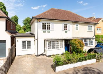 Thumbnail 4 bed semi-detached house for sale in Esher Avenue, Walton-On-Thames
