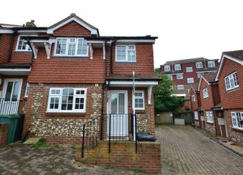 Thumbnail 3 bed end terrace house to rent in Spring Close, Eastbourne