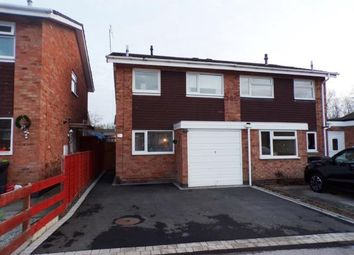 Thumbnail 3 bed semi-detached house for sale in Donnington Close, Churchill, Redditch, Worcestershire