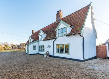 Thumbnail 4 bed cottage for sale in Diss Road, Winfarthing, Diss