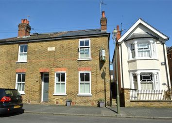 Thumbnail 3 bed end terrace house for sale in Glencoe Road, Weybridge, Surrey
